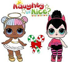 Lol Surprise Dolls Sugar And Spice Naughty Or Nice By Solomom Lol Dolls Naughty Lol