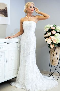 SALE. Miss Evita crochet wedding dress by LaimInga on Etsy
