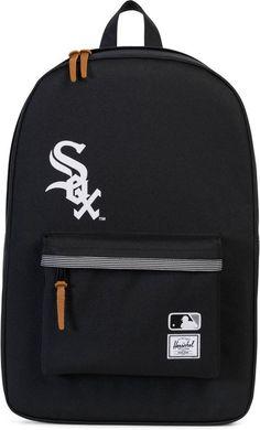 Herschel Rucksack mit Laptopfach, »Heritage, MLB Chicago White Sox« für 79,99€. Backpack »Heritage, MLB Chicago White Sox«, B/T/H: ca. 47/15/30 cm bei OTTO
