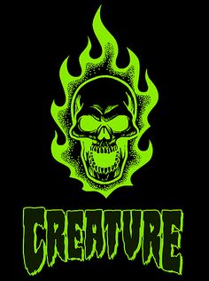 Creature Skateboards - check out one of the best companies out there.