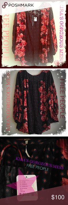 BNWT FREE PEOPLE BOHO ROMPER REPOSH...too big!!!!! BNWT FREE PEOPLE  BOHEMIAN ROMPER!!!!!! 100% AUTHENTIC...has never been worn!!!! SIZE SMALL!!!!! 100% RAYON and ladies it is gorgeous!!!!! It would fit around a bigger size 2 smaller size 4. Im a double 00 and wanted it so badly even thought my PFF told me not to get it that it would be too big but I did not listen!!!!! It is gorgeous and please don't miss out!!!! REPOSH!!!!! God bless Beauties  Free People Pants Jumpsuits & Rompers