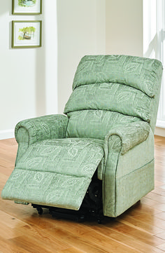 Upholstered in a stylish patterned fabric the Augusta Riser Recliner is a striking piece of furniture & 43 best Rise Recliner Chairs images on Pinterest | Power recliner ...