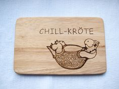 "Breakfast board ""Chill-Toad"" Source by sonjaelley Wood Crafts, Diy And Crafts, Design Palette, Hannukah, Farmhouse Style Decorating, Woodland Party, Unfinished Wood, Jack Skellington, Toad"