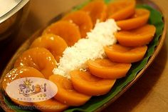 Kustinta Recipe is an orange or brown rice cake, good with freshly grated coconut on top. It is a perfect afternoon merienda for your family and friends.