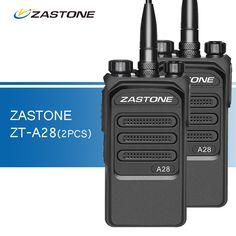 2pcs Zastone ZT-A28 Walkie Talkies UHF 400-480MHz Professional Two Way Radio Ham CB Radio Transceiver Portable Walkie-talkies