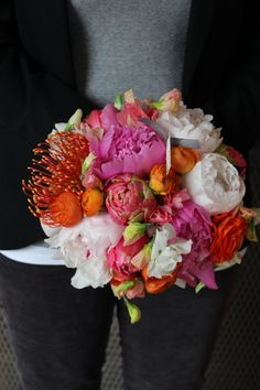 bridal bouquet @AnnaMaraFlowers