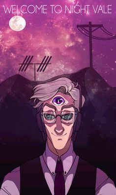 welcome to night vale gif* LOVE