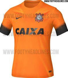 Além da laranja: relembre outras camisas diferentes do Corinthians #globoesporte