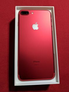 Apple IPhone 7 Plus Special Edition In Red Unlocked 256GB