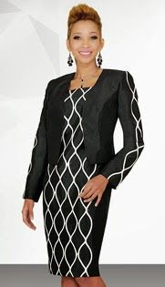 Style : SA78447 Sizes : 8 10 12 14 16 18 20 Colors : Black With Off-White ( 2pc Shantung Stacy Adams Designer Womens Jacket Dress ) Regular Price : $240 Our Price : $190