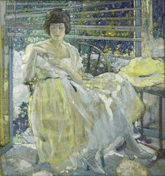 The Sun Porch by St. Louis Native Richard Edward Miller.