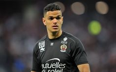 Download wallpapers Hatem Ben Arfa, French footballer, football club Nice, France, Ligue 1, football