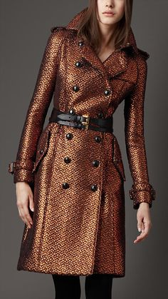 Will someone please give this to me as a belated Christmas gift? Burberry Bronze Trench.