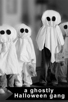 Halloween Children Ghost Gang | eBay