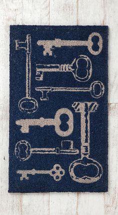 ~ Key Doormat