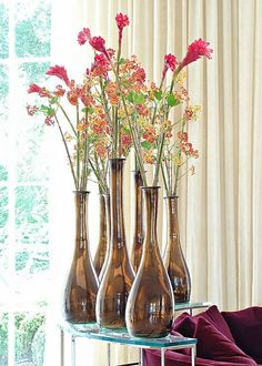 Flower Arrangements - Ideas for receiving the spring in your home.