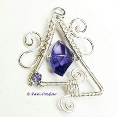 Purple Crystal Wirework