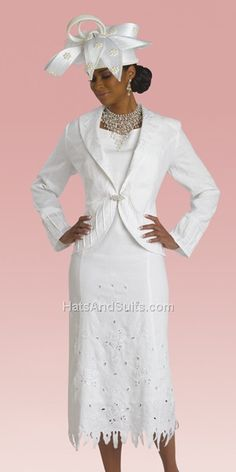 Donna Vinci Style 4803-W Church Suits And Hats 4fa84708f1a2