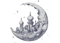 moon drawing - Google Search