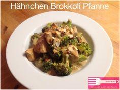 Hähnchen Brokkoli Pfanne