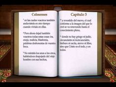 """LA BIBLIA """" COLOSENSES """" COMPLETO REINA VALERA NUEVO TESTAMENTO - YouTube"""