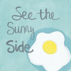 Food- Kitchen Art- Eggs- Sunny Side Up Painting