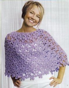 Snappy Wraps to Crochet Book LA 4590