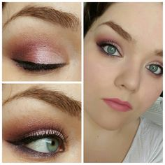 The Decadence Diaries: Pink Rose Inspired Eyes FT Too Faced Chocolate Bon Bons Palette