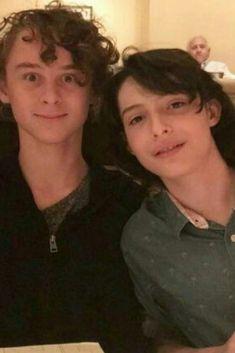 Wyatt Oleff and Finn Wolfhard