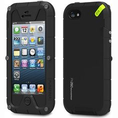 PureGear Weatherproof Case with Screen Protector for iPhone 55S  Retail Packaging  Black >>> Want additional info? Click on the affiliate link Amazon.com on image.
