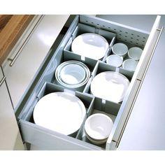 CUISIO Flex / Geschirrhalter / Tellerhalter / Ordnungssystem