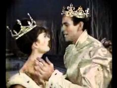 "Rodgers and Hammerstein's Cinderella (1965) -- Leslie Ann Warren as Cinderella and Stuart Damon as the Prince singing ""Ten Minutes Ago"""