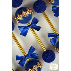 """""""Had the privilege of making my absolute favorite cake pops again this weekend for a royal baptism  Featured are our royal prince baby rattle cake…"""""""