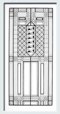 frank lloyd wright window designs - Google Search