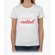 Holiday Cocktail Exchange Womens T-Shirt