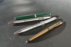 3 collectable pens Sheaffer 1960 Fend 4 by DecadesOfFunkiness