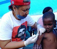Cuban medical diplomacy; Cuban health workers in Haiti