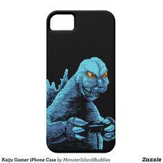 Kaiju Gamer iPhone Case