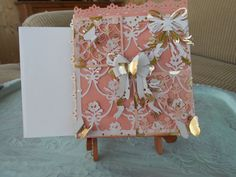 Shabby Chic Birthday  Card With Envelope by BarbarasNook on Etsy