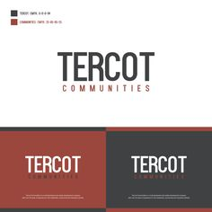 Create a capturing, modern logo and NEW brand identity for leading Real Estate Developer in Canada! by Artbotic