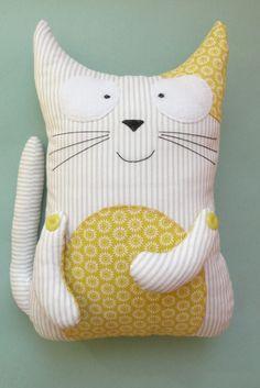Милые текстильные игрушки ручной работы для домашнего уюта