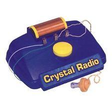Elenco  Crystal Radio Experiment Kit New
