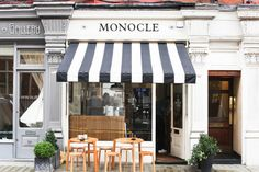 "de-la-valliere:  "" Monocle cafe by Farfelue on Flickr.  """