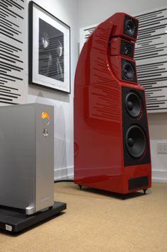 Mono and Stereo High-End Audio Magazine: The Audio Salon NAGRA HDamp U.S. premiere