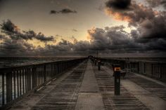 There's nothing like walking on piers