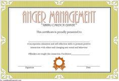 Anger Management Completion Letter Sample from i.pinimg.com