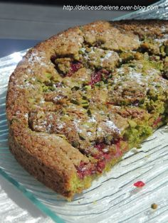 gâteau pistache-framboises (2)