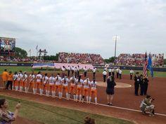 Lady Vols Softball Team