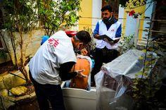 Tusentals människor på flykt som söker skydd i den grekiska övärlden möts av ett icke-fungerande mottagningssystem och undermåliga levnadsvillkor...
