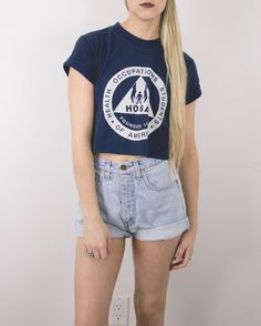 Vintage HOSA Cropped T Shirt